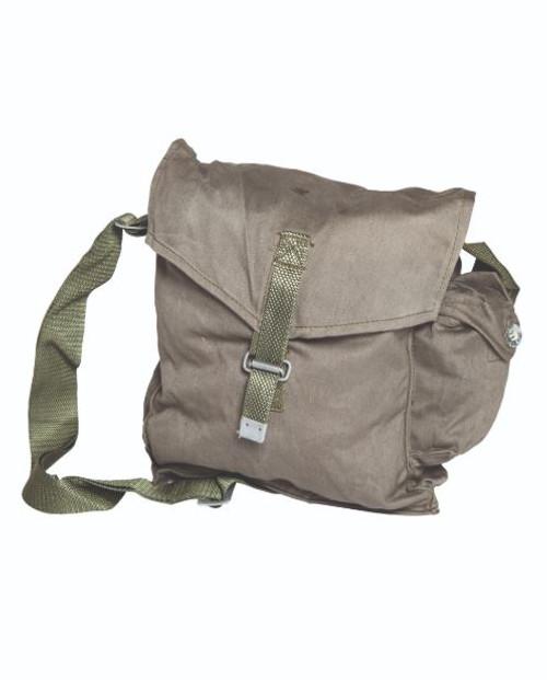 Polish Armed Forces Grey Gas Mask Bag w/Strap