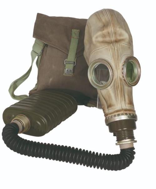 Polish Mp-3 Gas Mask W/Bag Hose & Filter