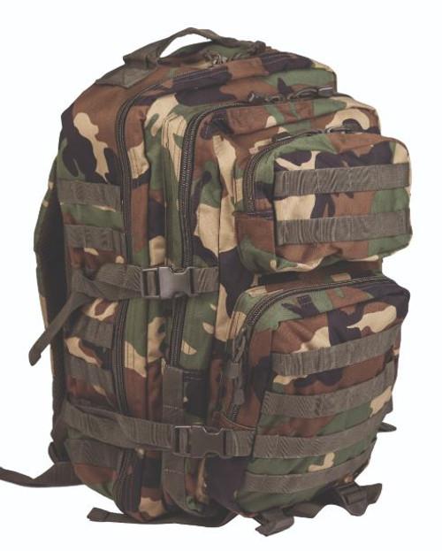Mil-Tec Woodland Camo Large Assault Pack