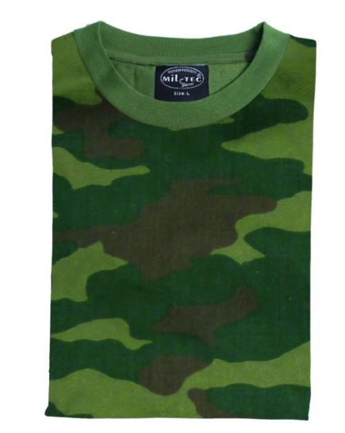 MIL-TEC Russian Woodland Camo T-Shirt