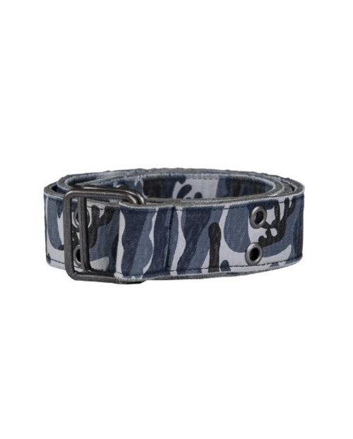MIL-TEC Sky Blue Camo Canvas Trouser Belt