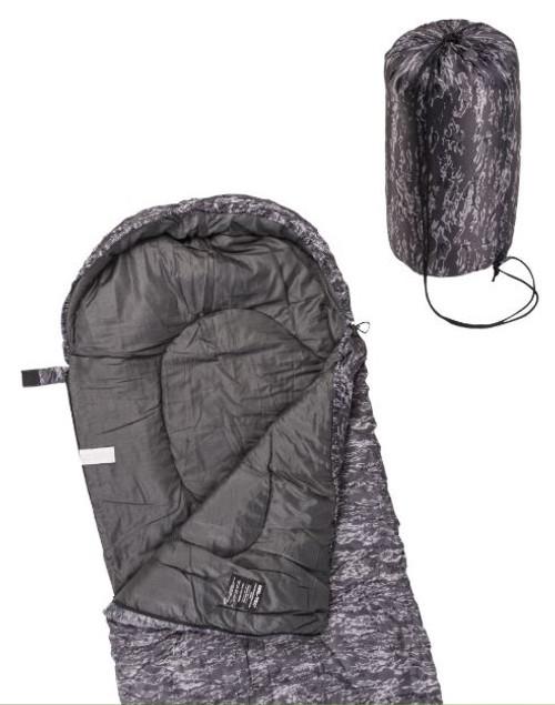 Mil-Tec Tiger-Night Camo Lightweight Mummy Sleeping Bag