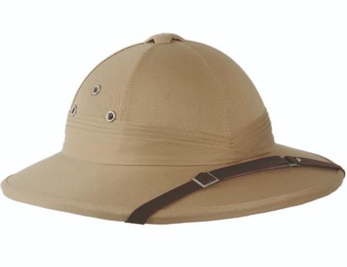 French Style Khaki Pith Helmet