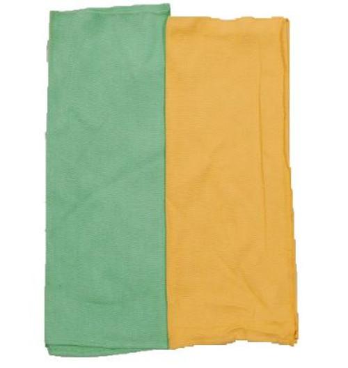 Hungarian Towel (Green & Orange)
