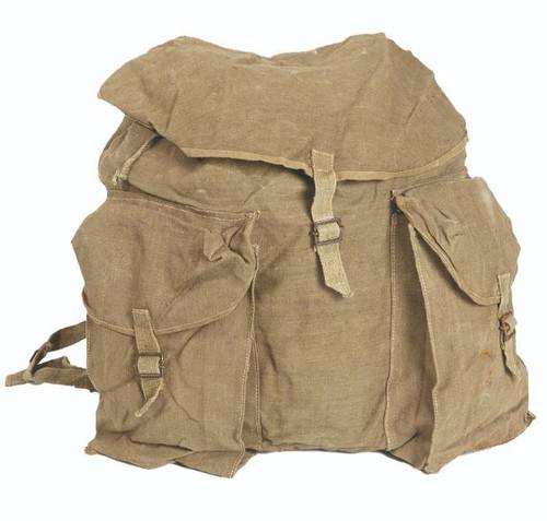 Italian Armed Forces Khaki Large Rucksack