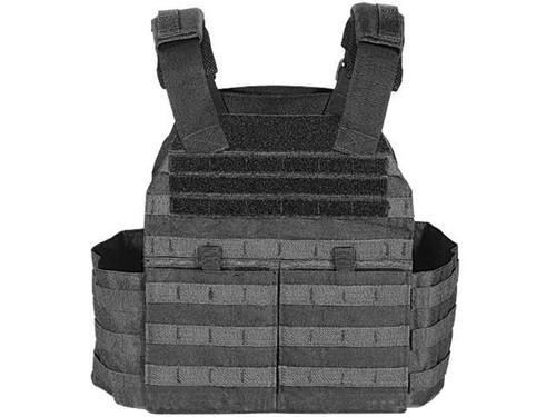 Voodoo Tactical X-Lite Gen II Plate Carrier w/Cummerbund - Black