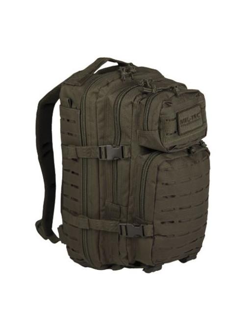 Mil-Tec OD Small Laser-Cut Assault Pack