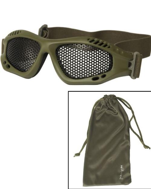 Mil-Tec OD Tactical Goggles