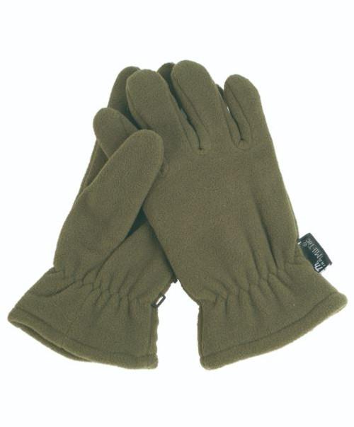 MIL-TEC OD Thinsulate Fleece Gloves
