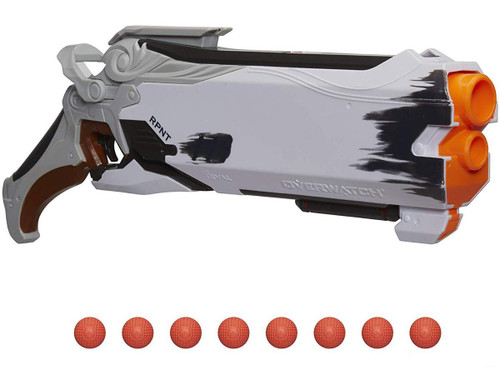 Nerf Rival Overwatch Reaper Hellfire Blaster (Color: Wight Edition)