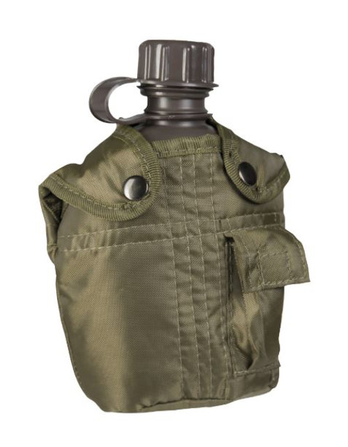 Mil-Tec Plastic Canteen w/OD Cover