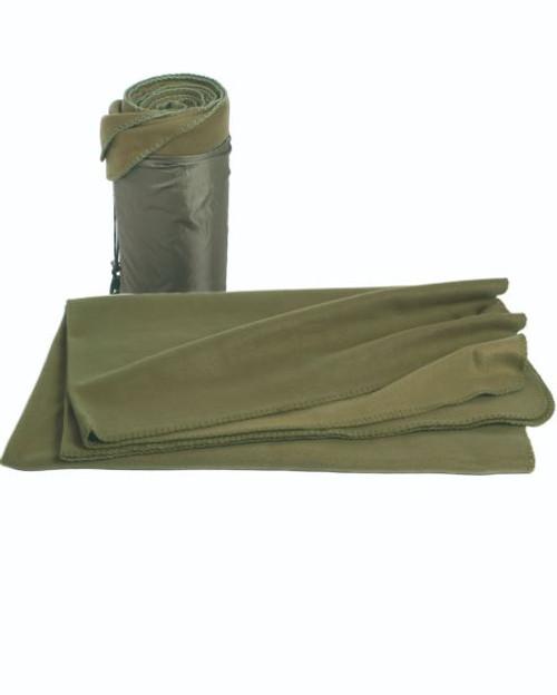 Mil-Tec OD Fleece Blanket (79″X59″)
