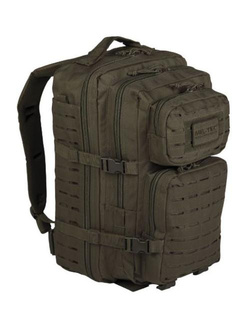 Mil-Tec OD Large Laser-Cut Assault Pack