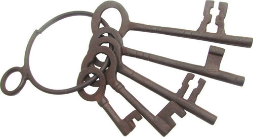 Old West Jailers Keys