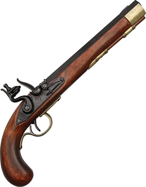 Kentucky Flintlock Pistol