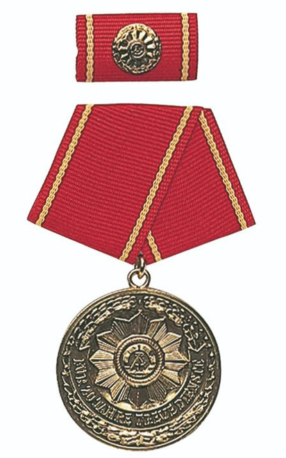 MDI Gold 20-Yr. Service Medal