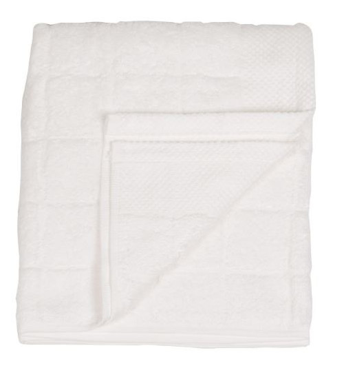 Italian White Terry Cloth Towel