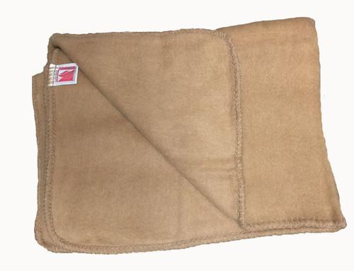 Italian Tan Fire-Proof Blanket New (60″X40″)