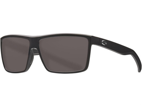 Costa Del Mar - Rinconcito Polarized Sunglasses - Matte Black / 580g Gray