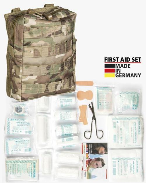 Mil-Tec Multitarn Camo 43-PC First-Aid Set
