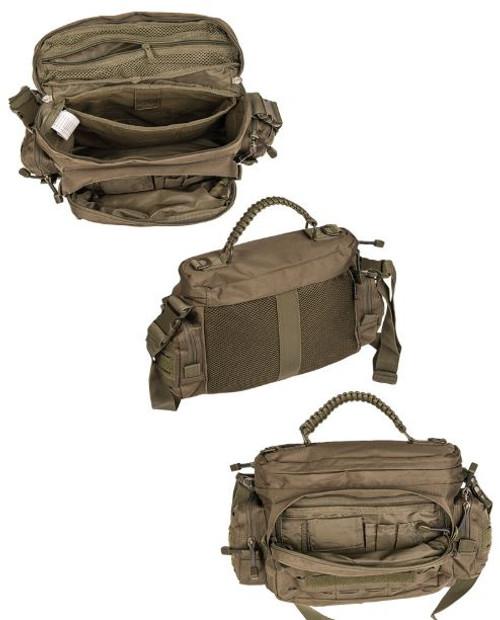 MIL-TEC Multitarn Camo Tactical Small Paracord Bag