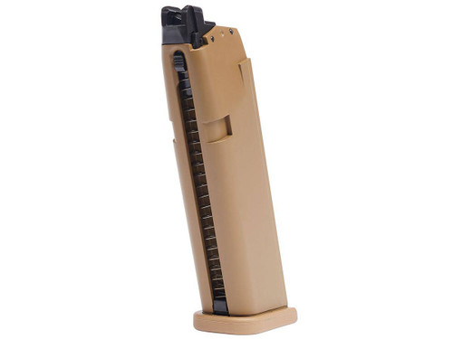 Elite Force 20rd Magazine for GLOCK Licensed G19X Airsoft GBB Pistols - Tan
