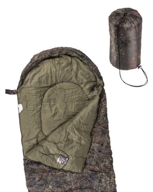 Mil-Tec Flectar Camo Lightweight Mummy Sleeping Bag