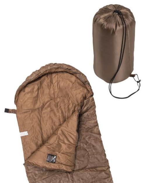 Mil-Tec Dark Coyote Lightweight Mummy Sleeping Bag