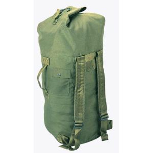 U.S. Armed Forces Double Strap Ballistic Nylon Duffel Bag