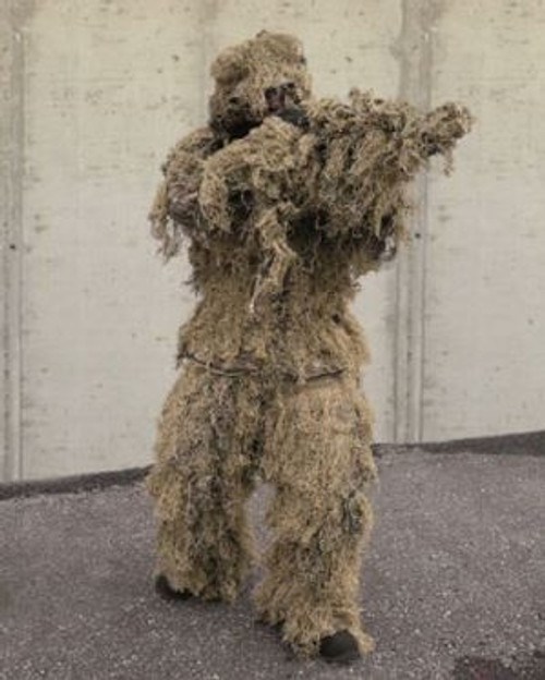MIL-TEC Desert Camo Ghillie Suit