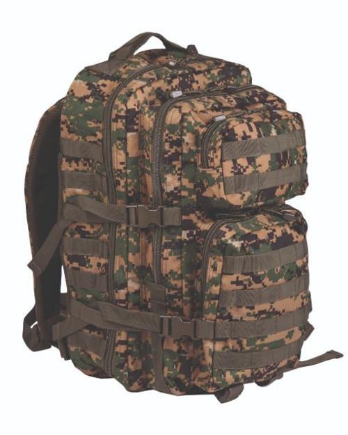 Mil-Tec Digital Woodland Camo Large Assault Pack