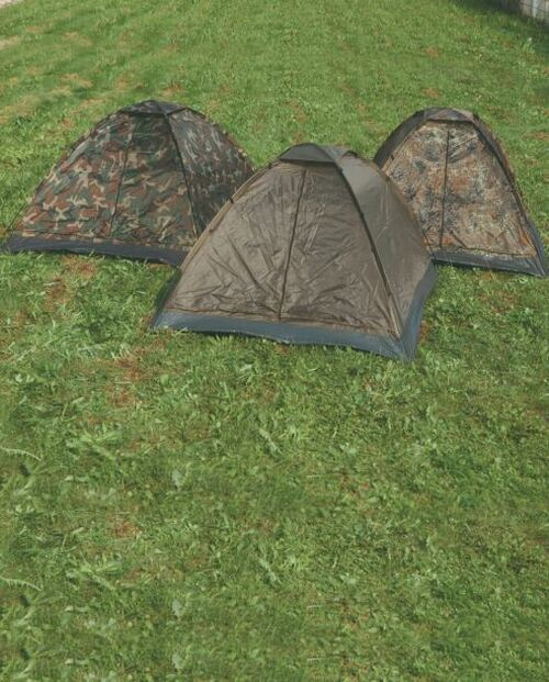 MIL-TEC Flectar Camo 3-Man Igloo Tent
