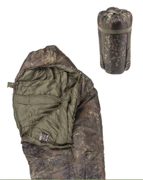 Mil-Tec Flectar Camo 400GR. Mummy Sleeping Bag