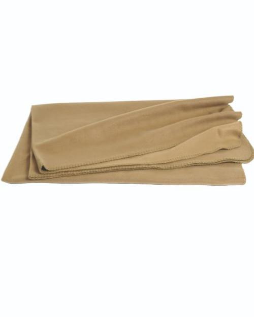 Mil-Tec Coyote Fleece Blanket (79″X59″)