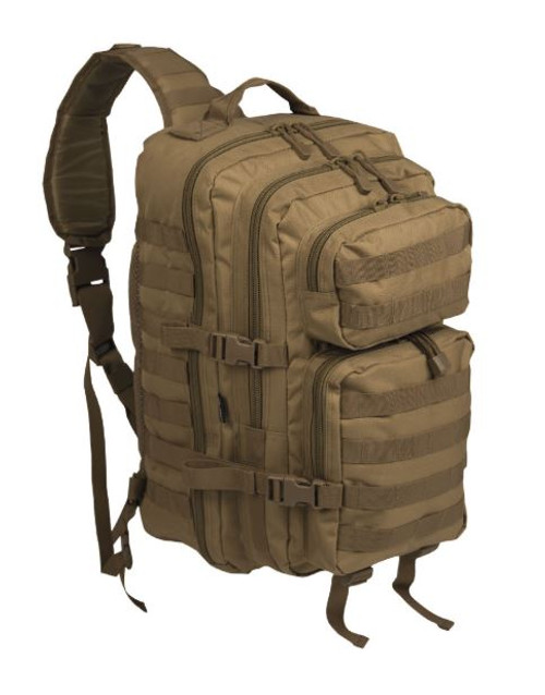 Mil-Tec Coyote Single-Strap Large Assault Pack