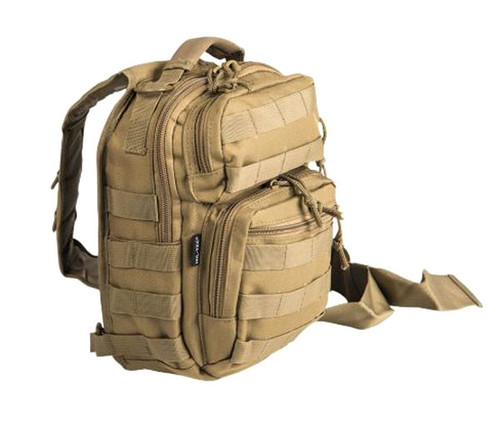 Mil-Tec Coyote Single-Strap Small Assault Pack