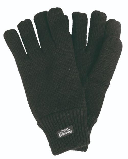 MIL-TEC Black Acrylic Thinsulate Gloves