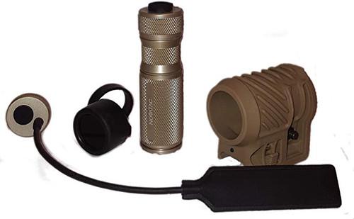 NovaTac SpaDefense SPL-120 Tactical Handheld and Weapon Flashlight
