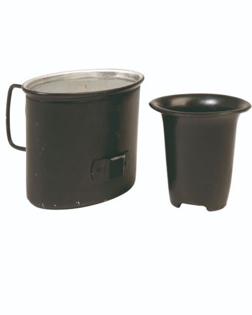 German Repro WWII Aluminum Canteen Cup
