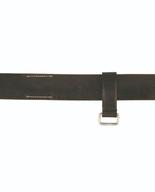 German Leather WWII Belt Keeper