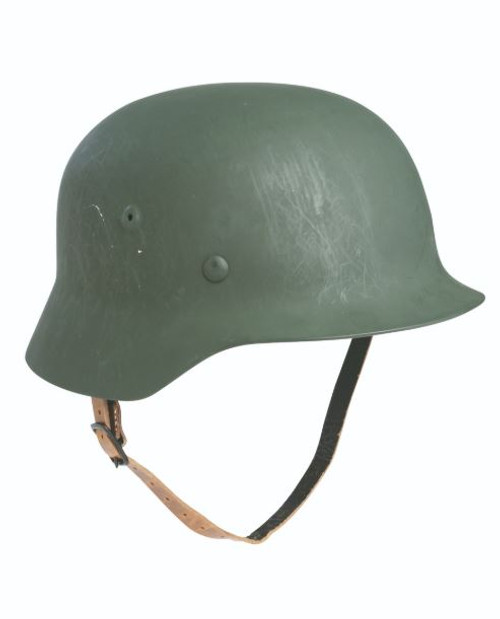 German Repro WWII Leather Chin Strap