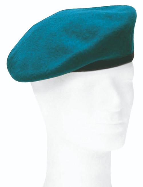 German Armed Forces Blue Wool Beret