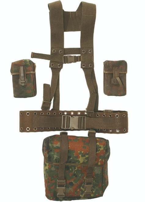 German Armed Forces G3 Flectar Camo 5-Pc. Harness Set
