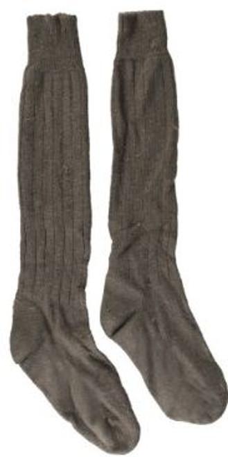 German Armed Forces Grey/OD Long Boot Socks