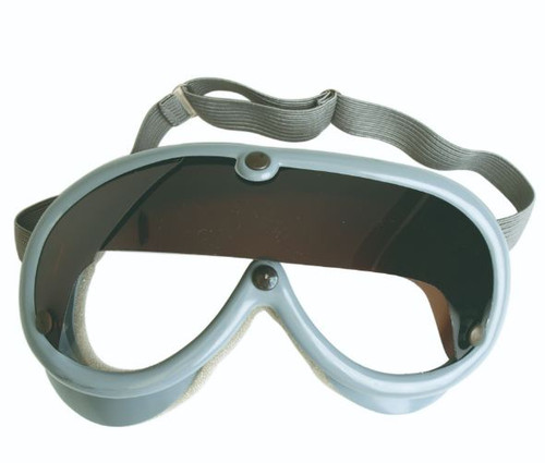 German Armed Forces Grey Goggles W/Sun Shade