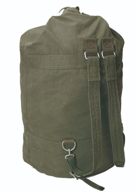 German Large Mountain Duffle Bag W/Lock