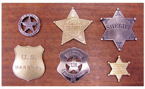 Badge Plaque with 6 Badges