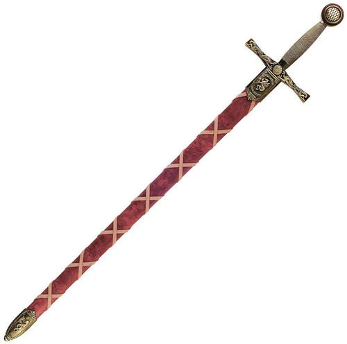 Excalibur w/Scabbard Brass
