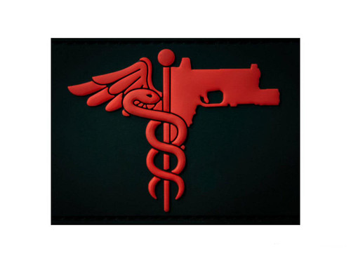 MUSA Trauma Medical Shooter PVC Morale Patch
