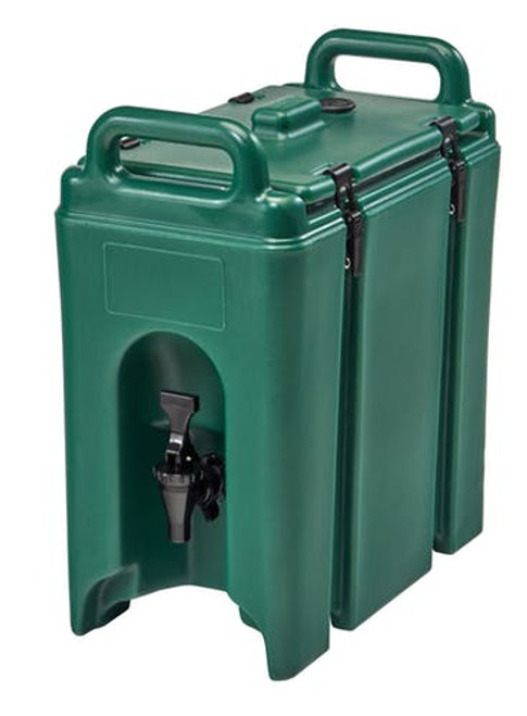 Cambro  Camtainers® 2.5 Gallon Kentucky Green Insulated Beverage Dispenser